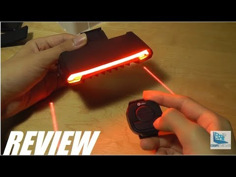 REVIEW: Meilan X5 Smart Bike Light (Laser + LED Turn Signals)