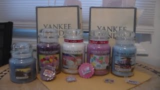 "Yankee Candle Haul: New ""easter & Summer 2015"" Scents - Feb. 8, 2015"