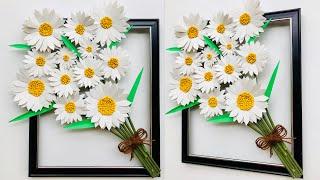 DIY Beautiful Daisy Flower Wall Decor | Home Decoration | Wall Hanging | #43 |