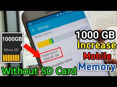 Mobile Increase Storage Without Sd Card 1000 GB Free Space |Mobile New Update