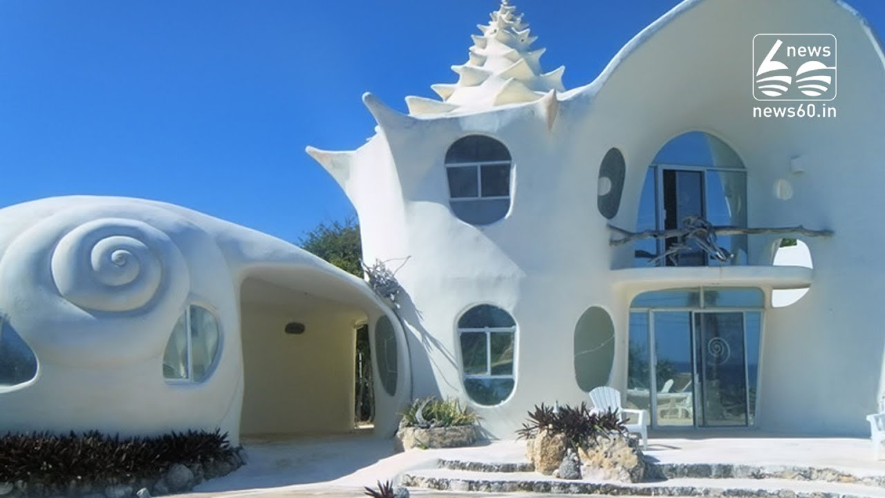 The Conch Shell House Yucatan Island Youtube - Conch-shell-house