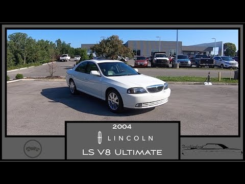 2004 Lincoln LS V8 Ultimate|Walk Around Video|In Depth Review