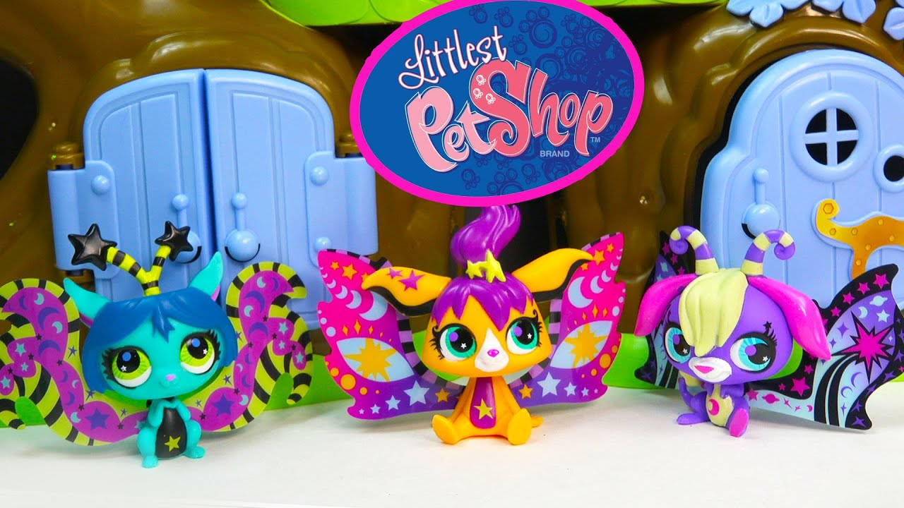 Littlest Pet Shop Glow In The Dark Moonlite Fairies Fairy