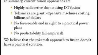IEC Fusion vs Tokamak Fusion