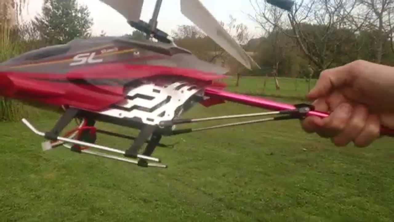Crash Rc Helicopter Sky Hercule