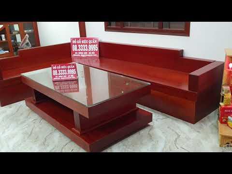 Bộ Bàn Ghế Sofa Nguyên Khối Trả Hàng A. HÙNG ở TP. Lạng Sơn / Đồ Gỗ Siêu Quần