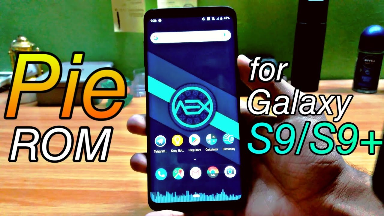 AOSP Extended v6 3 Android 9 Pie ROM for Galaxy S9 and S9+