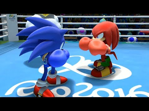 Mario & Sonic at the Rio 2016 Olympic Games Boxing #3 Sonic, Tails, Shadow, Metal Sonic