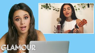 Camila Cabello Watches Fan Covers on YouTube & TikTok   Glamour