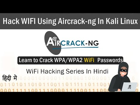 how to hack wifi password using kali linux - WiFi Pentesting Using Aircrack-ng | Kali Linux tutorial In Hindi