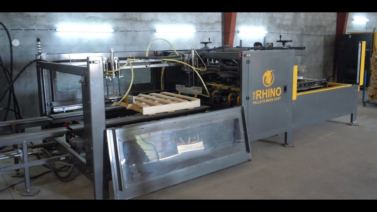 Rhino Pallet Nailing Machine For Building Block Amp Stringer