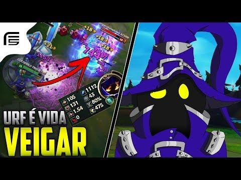 URF É VIDA - VEIGAR 1112 DE AP MATANDO SÓ NO ULTIMATE - League of Legends [ PT-BR ]