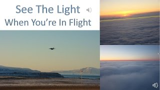 Flat Earth - Flight Paths & Views From Your Plane