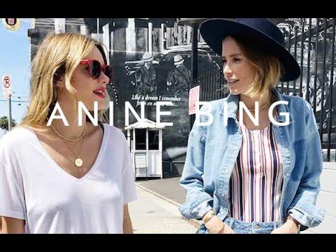 Behind The Scenes x Camille Rowe | ANINE BING