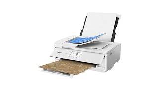 Canon PIXMA TS9521C Crafting AllInOne Printer with Softw...