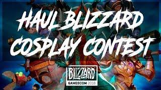 HAUL Merchandising Blizzard Cosplay contest at Gamescom 2018