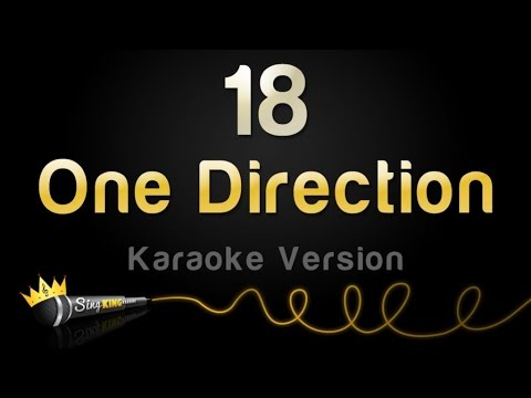 One Direction - 18 (Karaoke Version)