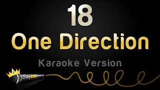 One Direction 18 Karaoke Version