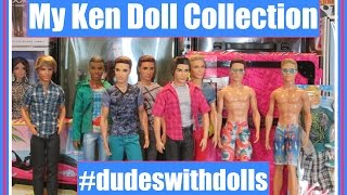 MY KEN DOLL COLLECTION - BARBIE DOLLS - DOLL REVIEWS