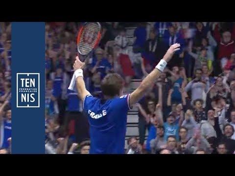 Coupe Davis, #FRANED : highlights du double