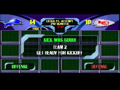 Blitz 2000 season mode week 3-  Kansas City Chiefs
