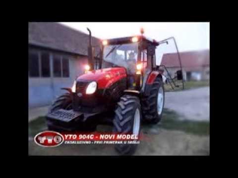 Traktor YTO 904C - Novi model - Ekskluzivno prvi primerak u Srbiji