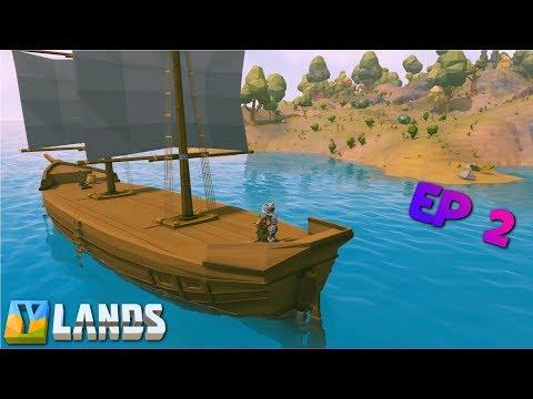 Ylands | Ship Ahoy ! | Let's Play Ylands ep 2