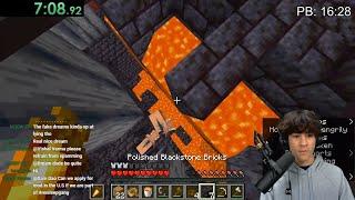 Minecraft 1.16 World Record Speedrun Attempts