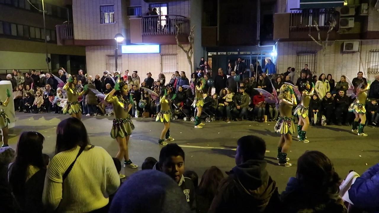 Cabalgata de reyes 2017 murcia gimnasio aerodance youtube for Gimnasio murcia