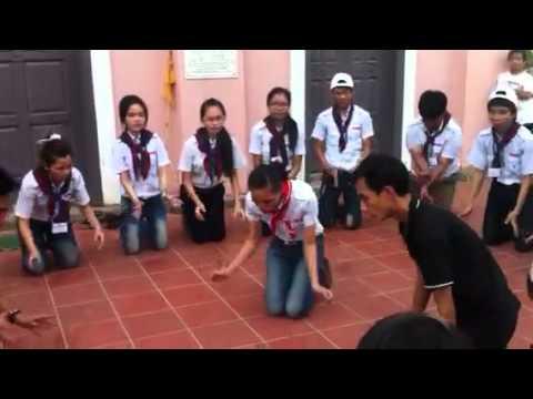TNTT Tập vũ điệu bài GỌI LỬA THIÊNG