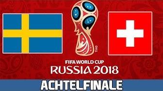 SCHWEDEN : SCHWEIZ | Achtelfinale | FIFA WM 2018 Prognose