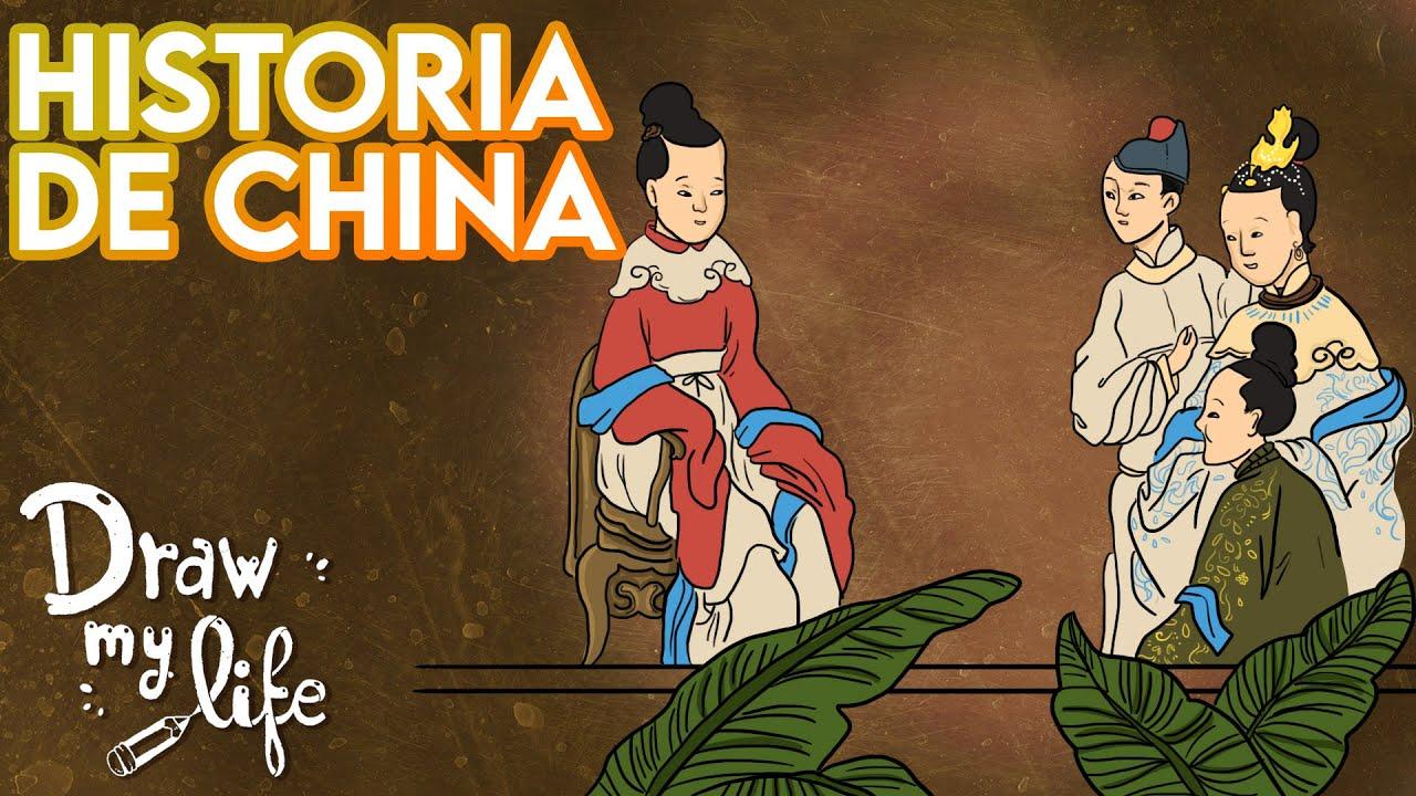 El MISTERIO de CHINA 🏮🐲 | Draw My Life