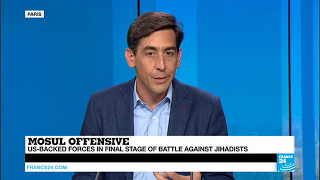 TOP STORY   Mosul Offensive  Correspondent Matthieu Reports on Situation on the Ground