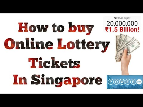 How to buy online lottery tickets in Singapore|lottery in Singapore