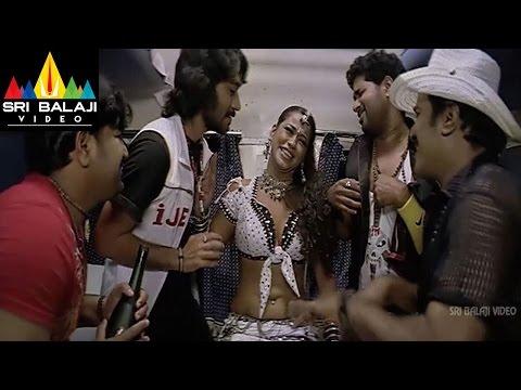 Maisamma IPS Movie Mumaith Khan Action Scene In Train | Sri Balaji Video
