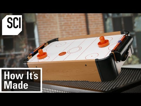 How Air Hockey Tables Are Built   How It's Made