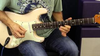 How To Play - Jason Aldean - When She Says Baby - Guitar Lesson - Beginner