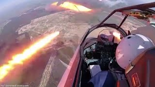 Russian Military Transport Aircraft and Military Vehicles in action