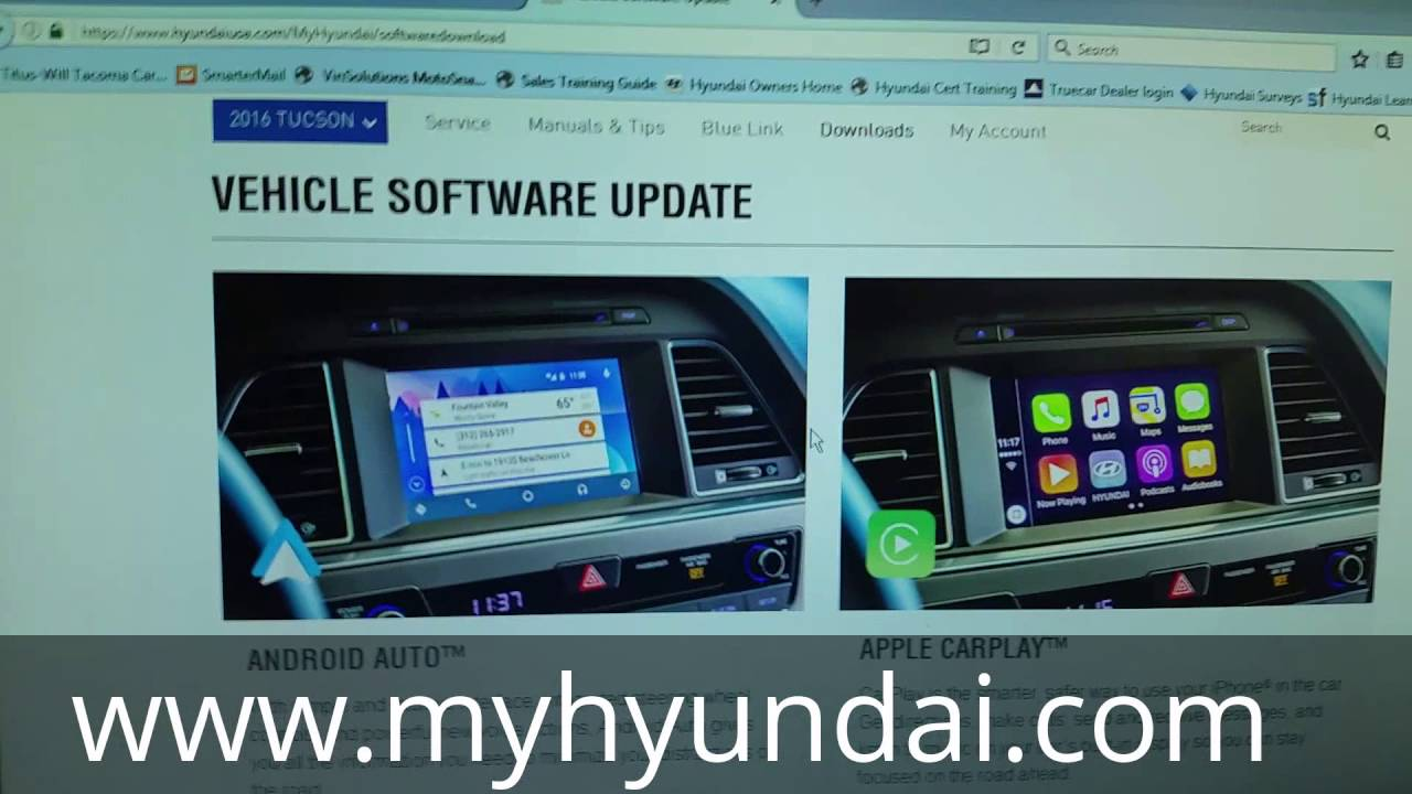 Apple Carplay Download >> How To Install Android Auto Apple Carplay Onto Your Hyundai