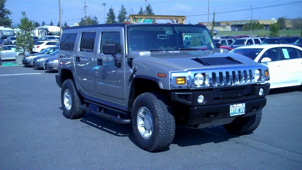 2004 hummer h2 4wd vortec 60l v8 sfi youtube vanachro Image collections