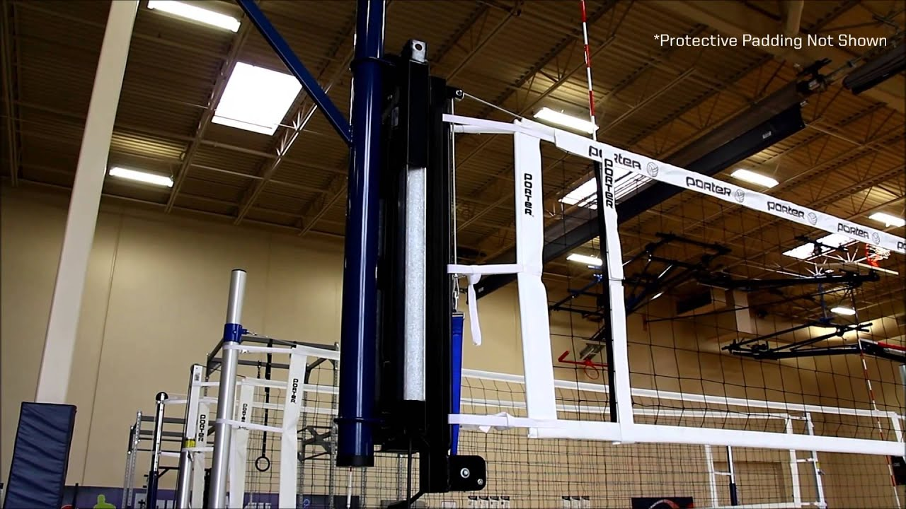 1900 Series Powr Net Overhead Volleyball Youtube