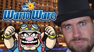 Wario Ware Inc - GBA Review - Top Hat Gaming Man
