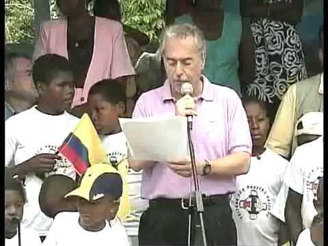 Visita del Presidente Pastrana a Vigía del Fuerte -29 de julio de 2002-