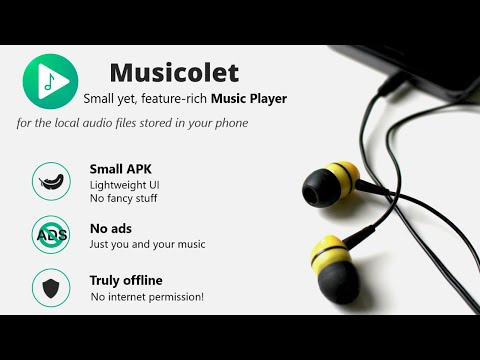 Musicolet | Offline Music Player for Android