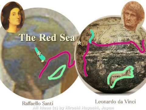 2512<09>Leonardos Terrestrial Globeダビンチの地球儀by Hiroshi Hayashi, Japan