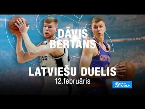 NBA latviešu duelis - Kristaps Porzingis pret Davis Bertans