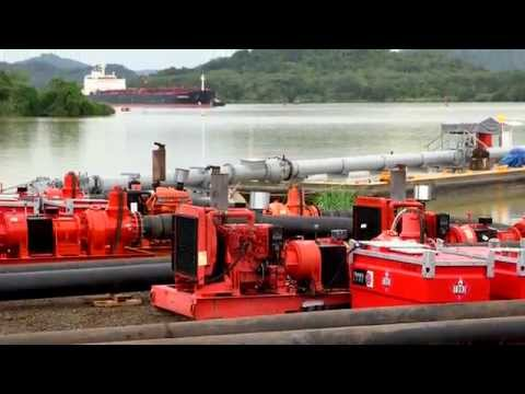Panama Canal Expansion Project - Xylem 2015
