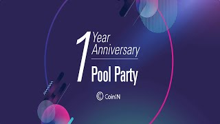 2018 Block chain PoolParty, by Coinin