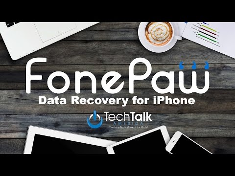 iPhone Data Recovery with FonePaw