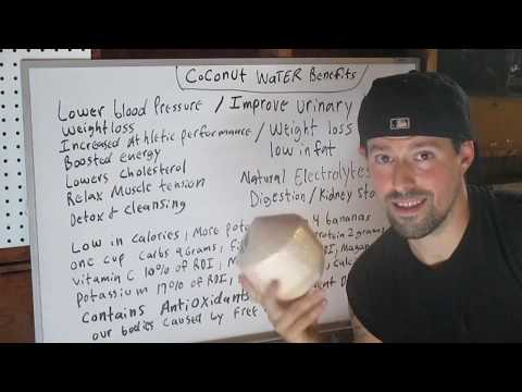 Coconut Water Benefits !!!!!!!!
